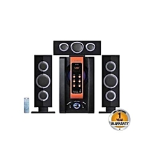 SP 353 A- Multimedia Speaker - Black & Orange