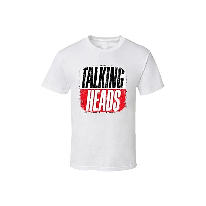 Generic Talking Heads Classic Rock Vintage Band Music T Shirt
