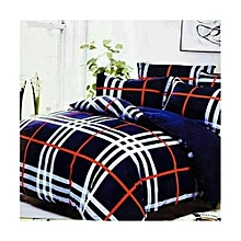 Duvet -blue with red ribbon