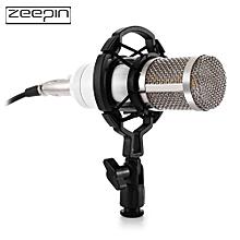 ZEEPIN BM - 800 Audio Sound Recording Condenser Microphone with Shock Mount - WHITE