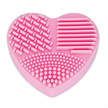 Heart Shape Makeup Brush Cleaner