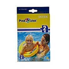 Poolsch.Dlx Swimring58231: 58231: Intex