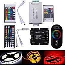 Mini 24 Key LED Controller Wireless IR Remote Dimmer For RGB LED Strip 5050 3528