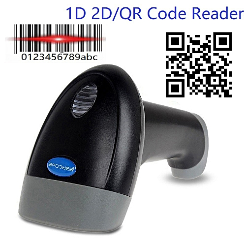Yoko USB Handheld 1D 2D Barcode Scanner QR Bar Code Reader for iOS Android  Windows