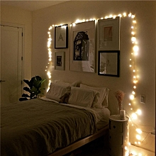20LED Copper Wire String Lights for Decorations 1pcs - Warm White