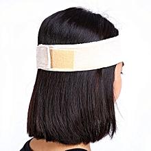 Women Flexible Velvet Wig Grip Scarf Headband Adjustable Fastener Hair Band-Skin Color
