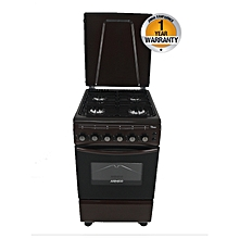 GC-F5640PX(BR) - 4 Gas - Oven + Grill - Brown