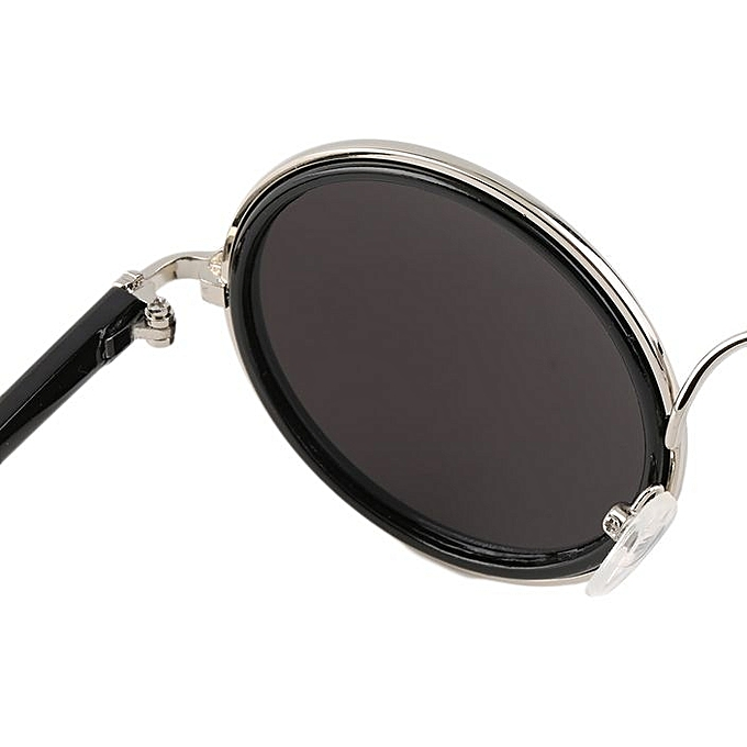 2b507cb9b4d Fashion Hot Women Men Unisex Fashion Vintage Retro Round Mirror Lens ...