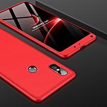 GKK PC 360 Degrees Full Coverage Case for Xiaomi Mi Mix 2S(Red)
