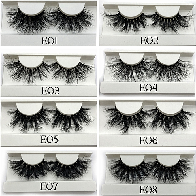 4dd001f0353 ... 25mm Long 3D mink lashes extra length mink eyelashes Big dramatic 25mm Mink  Lashes 100%