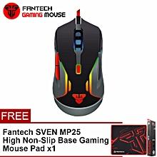FANTECH (SP21) V5 WARWICK 3200 DPI USB Optical Full Function Gaming Mouse Six Button Multimedia Mode BDZ