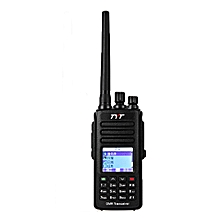 IP67 Waterproof Handheld Transceiver TYT MD-390 DMR Digital Walkie Talkie GPS 1000 Channels UHF400-480MHz-BLACK