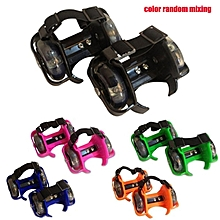 Children Roller Shoes Roller Skates Single Wheel Children Shoes Heelys Wheel colorful