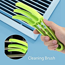 Detachable Car Window Blinds Air Conditioning Vent Louver Cleaning Brush Set