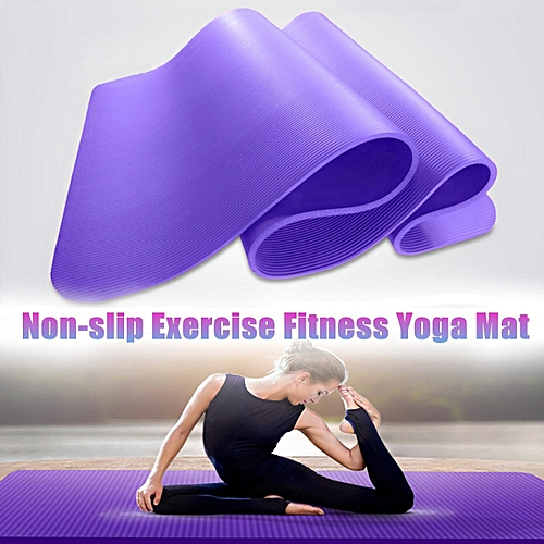 2019 discount sale buy real online for sale Non-slip Yoga Mat NBR Durable Exercise Fitness Pilates Gym Mat Lose Weight  Pad