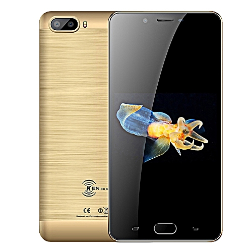 S9 4G Phablet 5.5 inch Android 7.0 Quad Core 2GB+16GB - GOLD