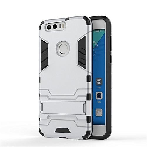 the best attitude eee9b 7dd1e For Huawei Honor 8 Case Luxury Hybrid Silicone +TPU Armor Case Cover For  Huawei Honor8 Full Protect Phone Housing Shock Protection Back Cover ...