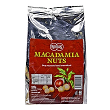 Dry-Roasted and Salted Macadamia Nuts, 500g