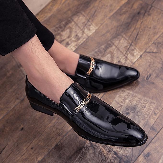 8e98972a2 EUR Size 39-45 Men Shoes Luxury Leather Shoes Men Wedding Party Dress Shoes  Italian