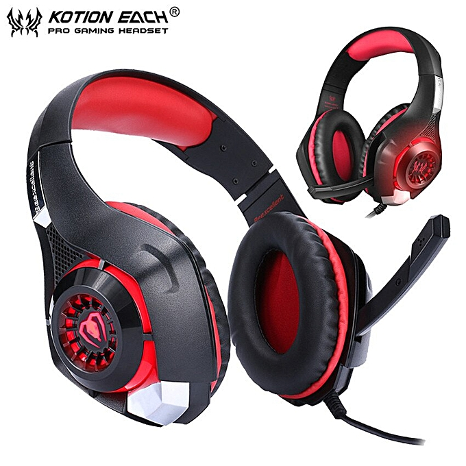 Generic Kotion Each Gs400 Gaming Headset Gamer Casque 35mm Stereo