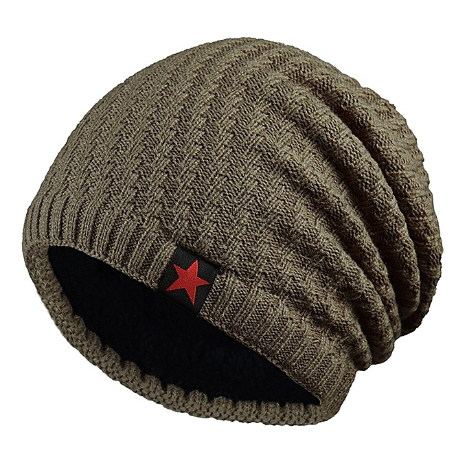c12cd6daad0ec Trendy Men Women Winter Elastic Knitting Hat Warm Sport Beanie Skull Cap