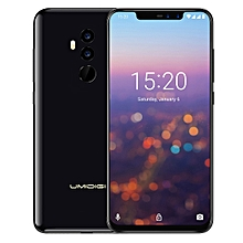 UMIDIGI Z2 Pro, Dual 4G, 6GB+128GB, Ceramic Version, Dual Back Cameras + Dual Front Cameras, Face ID & Fingerprint Identification,  6.2 inch Sharp Android 8.1 MTK6771 AI-driven Helio P60 Octa Core up to 2.0GHz, Network: 4G, NFC(Mirror Black)