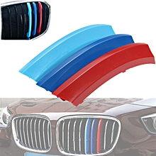 3 PCS M-Tech Kidney Grill Grille 3 Colour Cover Clips for BMW X5 E70 Year 2008-2013
