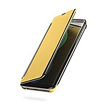 Galaxy S8+ Clear View Cover - Gold
