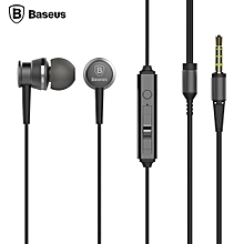 EL - 01 In-ear Wired Stereo Music Earphones - Gray
