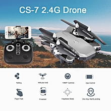 CS-7 Drone with Camera 1080P WiFi FPV Drone Altitude Hold Voice Control G-sensor RC Quadcopter Christmas Gift