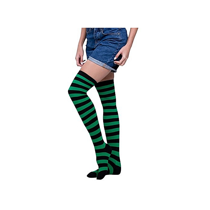 e9293310e95 Eissely Women Sexy Thigh High Over The Knee Socks Long Stockings ...