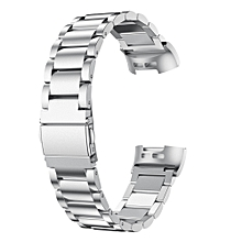 Replacement Stainless Steel Bracelet Smart Watch Band Strap For Fitbit Charge 3
