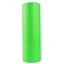 3.93 Inches Eva Yoga Foam Roller Body Massage Gym Fitness-GREEN