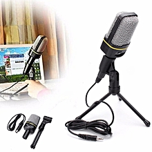 New Audio USB Microphone MSN Skype Studio Sound Recording Condenser Mic Stand