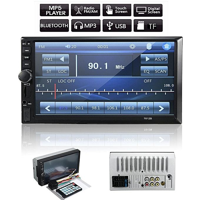 7'' 2DIN Car Bluetooth Touchcreen MP4 MP5 Player Stereo Radio In-Dash Head  Unit