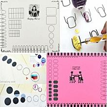 Salon Nail Art Tips Polish Silicon Fairy Mat Stamping Practice Pad Transfer DIY Translucent