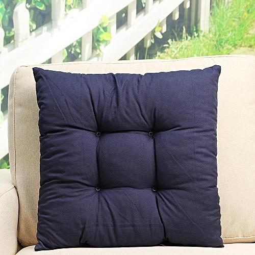 Patio Chair Cushion Set Seat Dog Cat Pads Garden Outdoor Furniture Soft Pillow Navy Blue