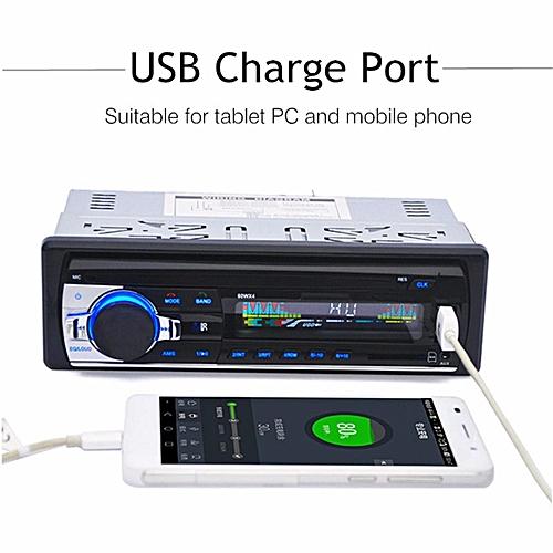 Car Radio Bluetooth 1 DIN In Dash Radio SD/USB Aux Input FM Stereo MP3 Player