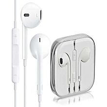 iPhone bass earphones - White