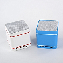 Mini Portable Super Bass Wireless Bluetooth Speaker for SmartPhone Tablet PC-Blue