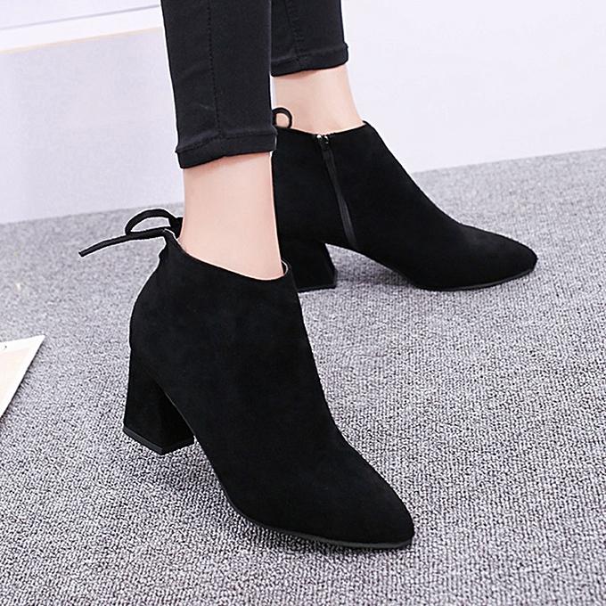 c786804f683 Hiamok Winter Womens Knee High Boots High Tube Martin Boot Flat Heels  Flowers Shoes