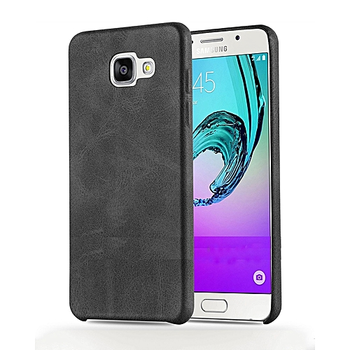 wholesale dealer 0fa48 f0cc6 Executive Leather Back Cover For Galaxy A7 (2016) 5.5