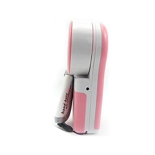 USB Portable Hand Held Air Conditioner Cooler Cooling Fan for Laptop PC (Pink)