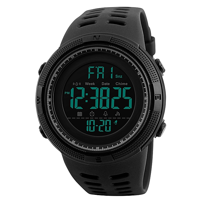 Men Watch - black