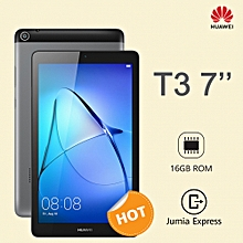 "T3 - 7"" - 1GB RAM - 16GB ROM  - 2MP - Single Sim - Grey"
