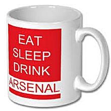 Drink Asernal Mug - White