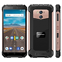Armor X Triple Proofing Phone 2GB+16GB IP68 Waterproof Dustproof Shockproof 5500mAh Battery 5.5 inch Android 8.1 MTK6739 Quad Core 64-bit up to 1.5GHz 4G Wireless Charge Smartphone(Rose Gold)