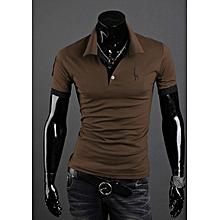 a7f2fc169 T-shirt men  039 s short-sleeved shirt popular fashion pop polo