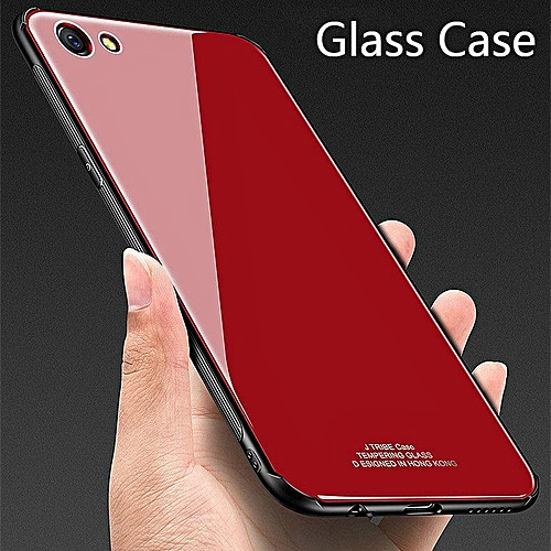 purchase cheap 49e12 83155 Glass Case For VIVO V5S Case HD Clear Full Protection Tempered Glass Back  Cover For Vivo V5s Housing
