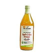 Organic Raw unfiltered Apple Cider Vinegar with mother-34fl.oz-1ltr